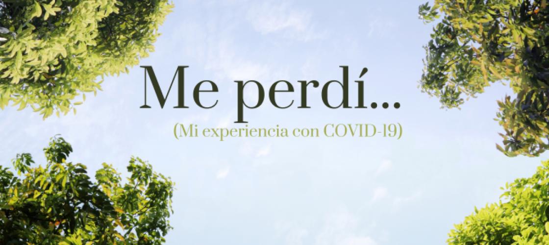 ME PERDI- covid19